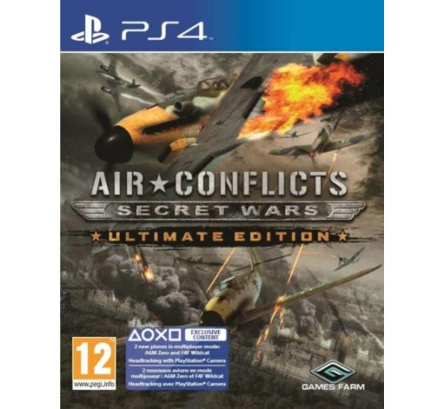 PS4 Air Conflicts: Secret Wars Ultimate Edition