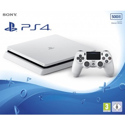 Sony Sony PlayStation 4 Slim Console - 500GB - PS4 Wit