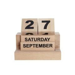 Monograph Houten blok kalender