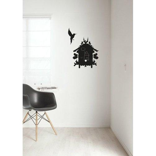 KEK Amsterdam Schoolbord muursticker Birdhouse