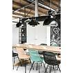 HKliving Industriële lamp grijs factory / AFHAALPRIJS