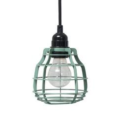 HKliving Lab lamp Groen Met stekker Met ingebouwde dimmer