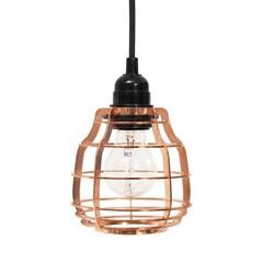 HKliving Lab lamp koper Met schakelaar