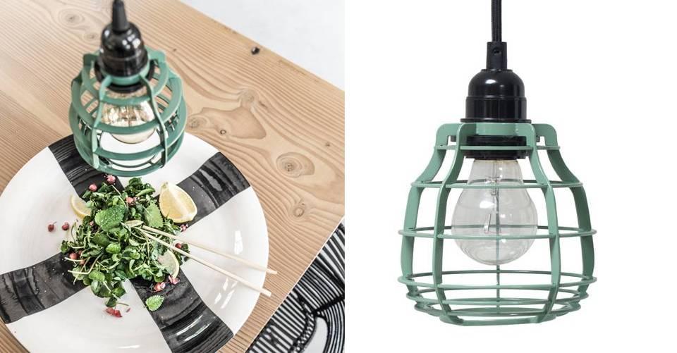 Een bijzondere lamp in een bijzondere kleur