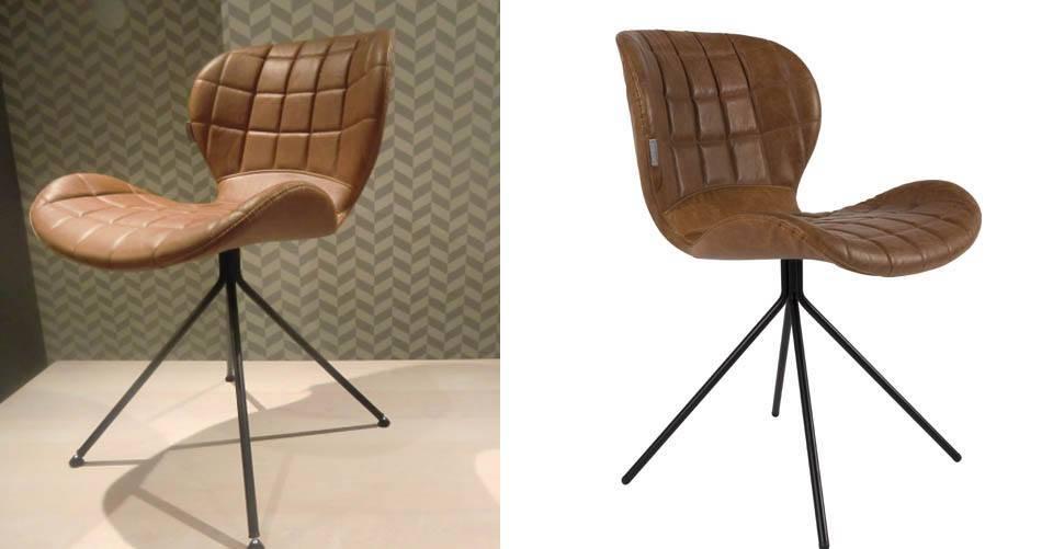 De OMG design stoel van Zuiver