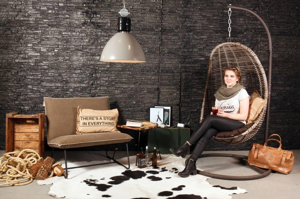 Industri le lamp frisk grijs de tafel van 10 online woonwinkel - Tafel eetkamer industriele ...