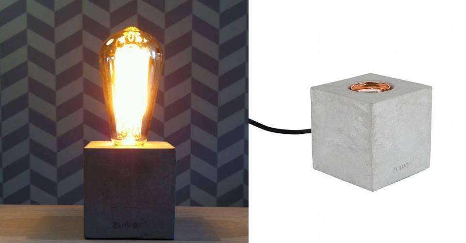 De fantastische Bolch Tafellamp van Zuiver