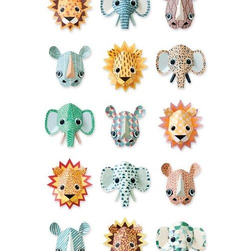 Studio Ditte Behang wilde dieren cool