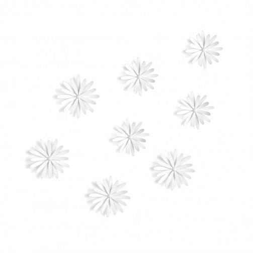 Umbra Wanddecoratie Delica Set van 8 Wit
