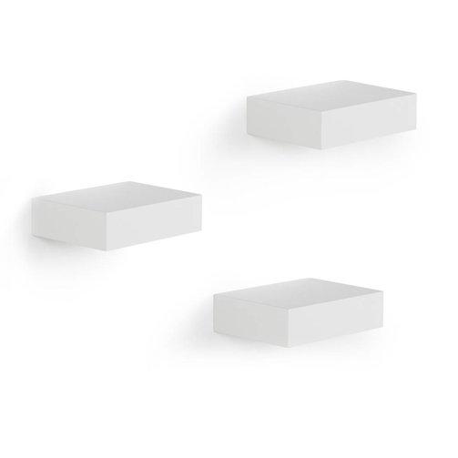 Umbra Wandplankje Set van 3 Wit