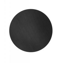 ferm LIVING Houten blad eiken zwart voor wire basket L