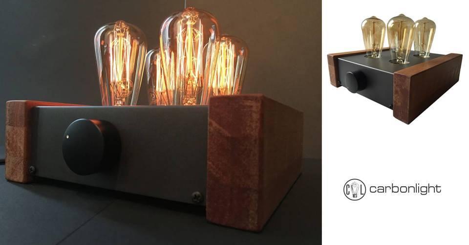 De Carbonlight tafellampen afkomstig uit het Hollandse Gouda!