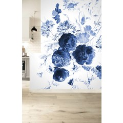 KEK Amsterdam Behang Royal Blue Flowers I