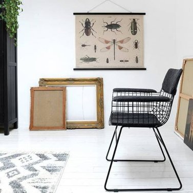 Wire stoel