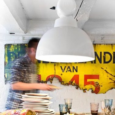 Witte Factory lamp
