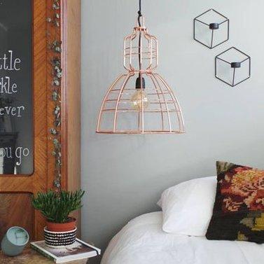 Wire lamp koper