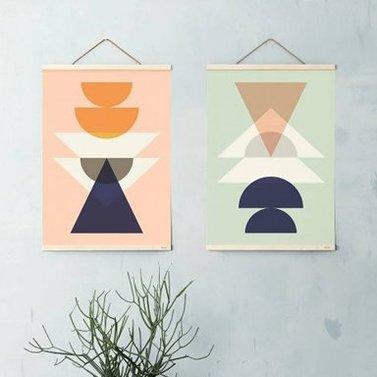 Houten poster frames