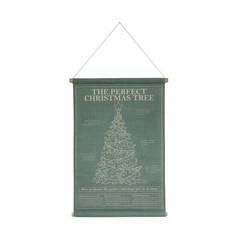 HKliving Schoolplaat 59 x 92cm Kerst Perfect Tree