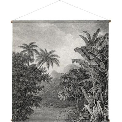 HKliving Wandkaart Jungle XXL 154 x 154cm