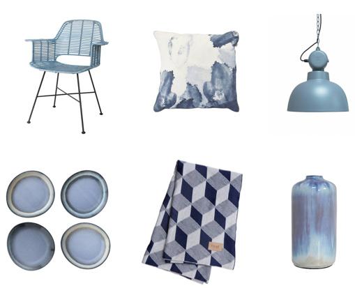 Blauw in je interieur de tafel van 10 online woonwinkel - Kleur blauw olie ...