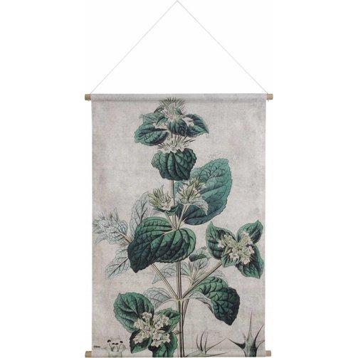 HKliving Wandkaart XL Botanisch