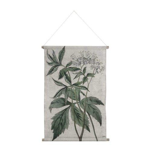 HKliving Wandkaart L Botanisch