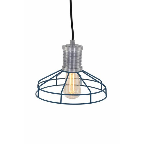 Anne Lighting Hanglamp Wire-O Blauw