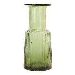 HKliving Glazen vaas groen L