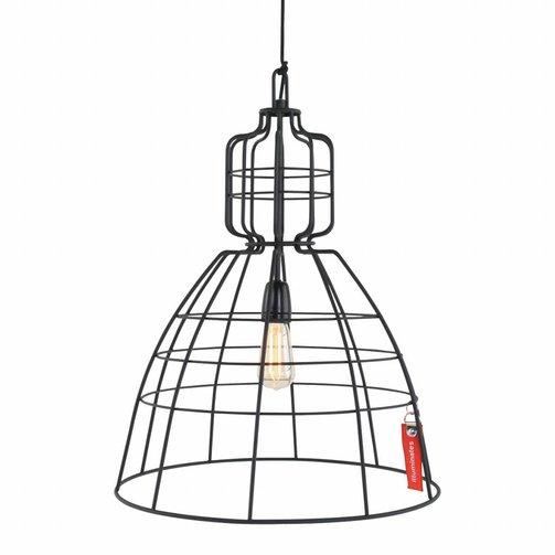 Anne Lighting Draadlamp Mark III Zwart L
