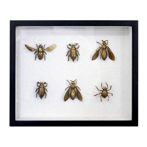 HKliving Fotolijst insecten messing