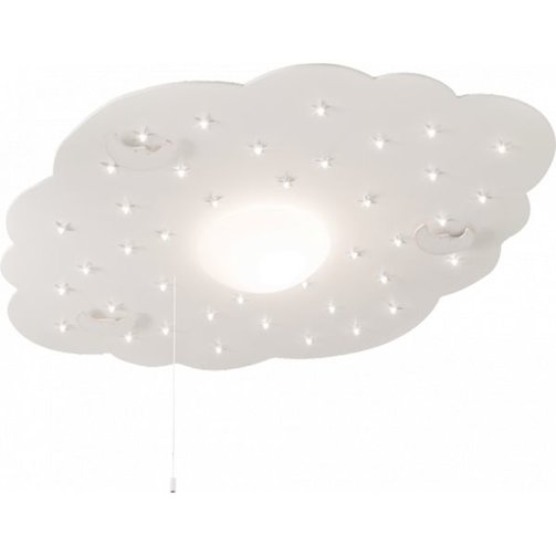 Steinhauer Plafondlamp Cloud incl 40 LED