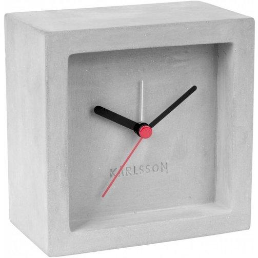 Karlsson Wekker / klok Beton 10 x 10cm