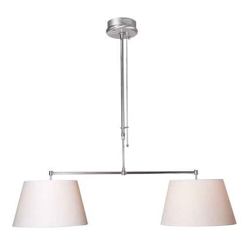 Steinhauer Hanglamp Stresa II Wit Linnen