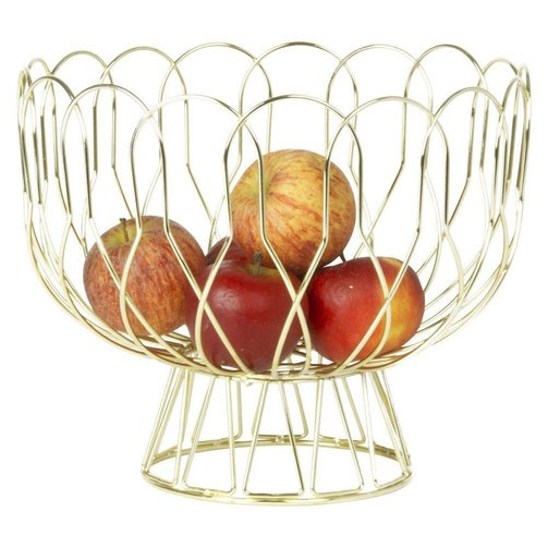 pt, (present time) Fruitschaal Wired Goud