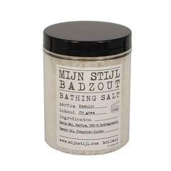 Mijn Stijl Badzout Kamille in pot met zwarte deksel