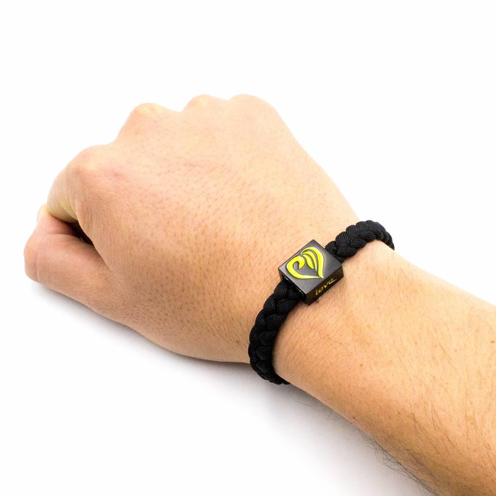 ELF Bracelet - black/yellow