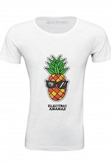 Shirt Electric Ananas white - Male