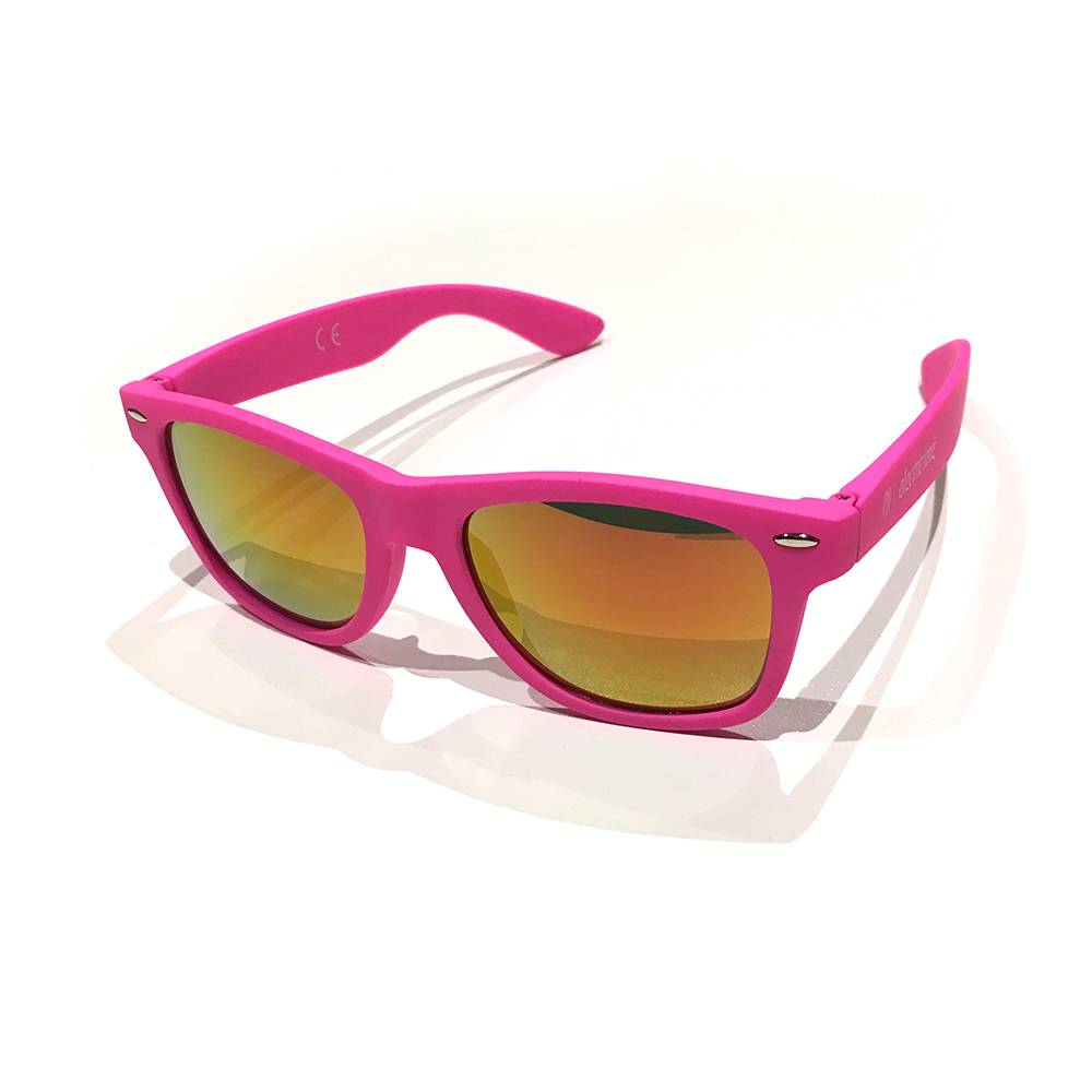 Glasses Rubbertouch - pink