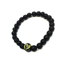 Bracelet - Beaded black