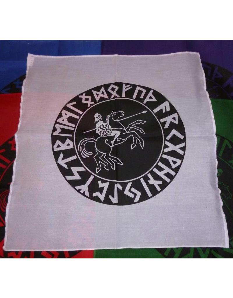 "Altartuch ""Odin im Runenkreis"""