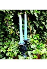 Pentagramme Kerzenständer Pentagramm mit Efeu