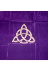 Keltisch Tarot Decke Dreifache Göttin-Charmed mit Triquetta