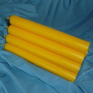 Durchgefärbt Stabkerze, Gelb