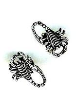 Ohrstecker Skorpion aus 925 Sterling Silber