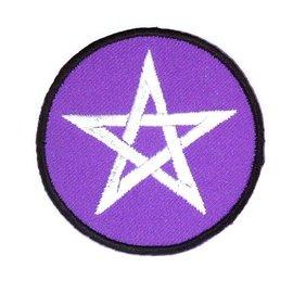 Textilien Patches (Aufnäher) mit Pentagramm