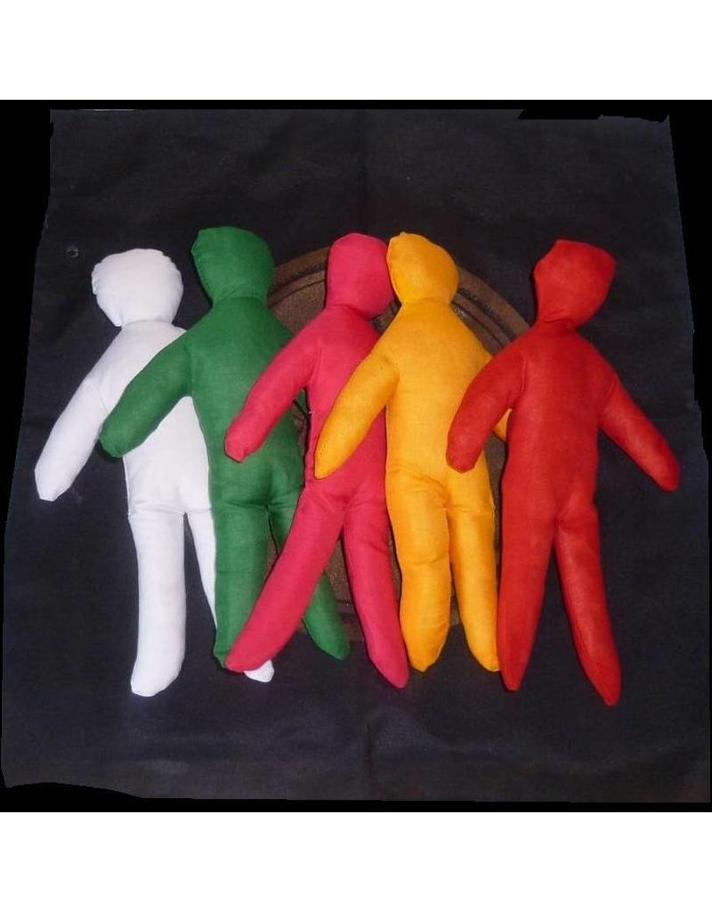 Textilien Puppen für magische Zwecke