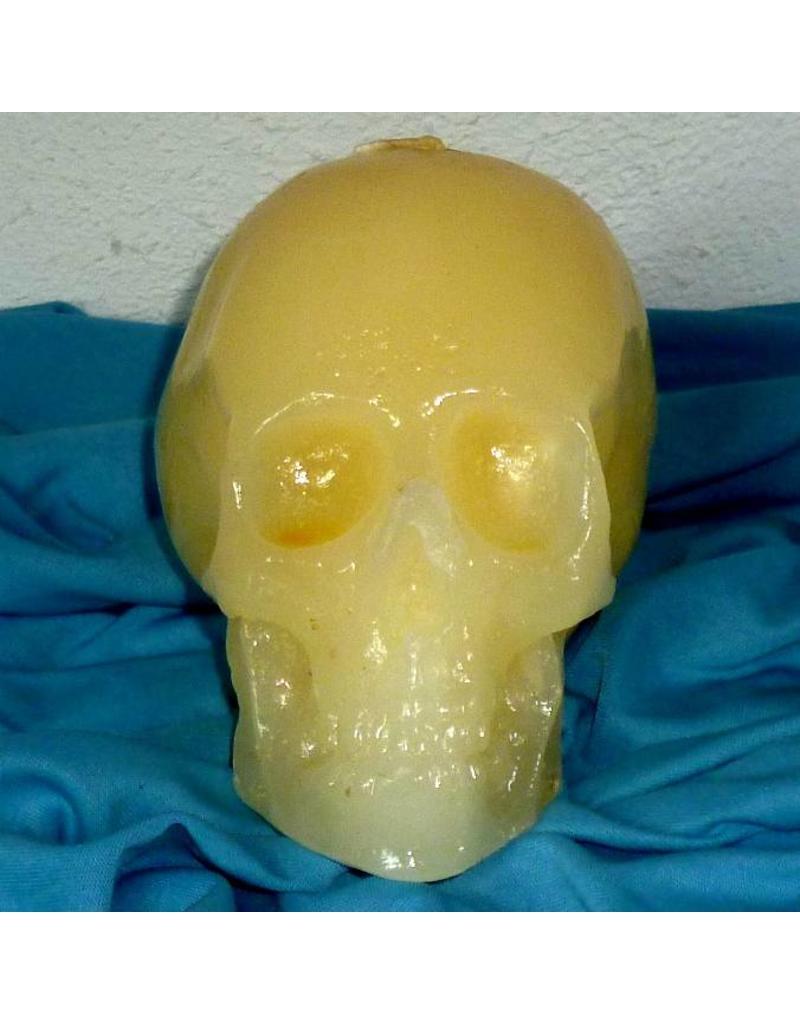 Totenkopf Kerze