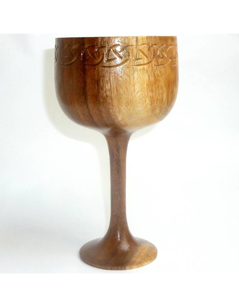 Keltisch Holzkelch Celtic