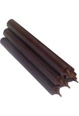 Durchgefärbt Kerze, Braun, durchgefärbte Stabkerze