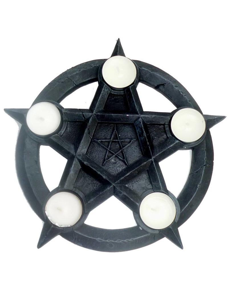 Pentagramme Teelichter-Pentakel